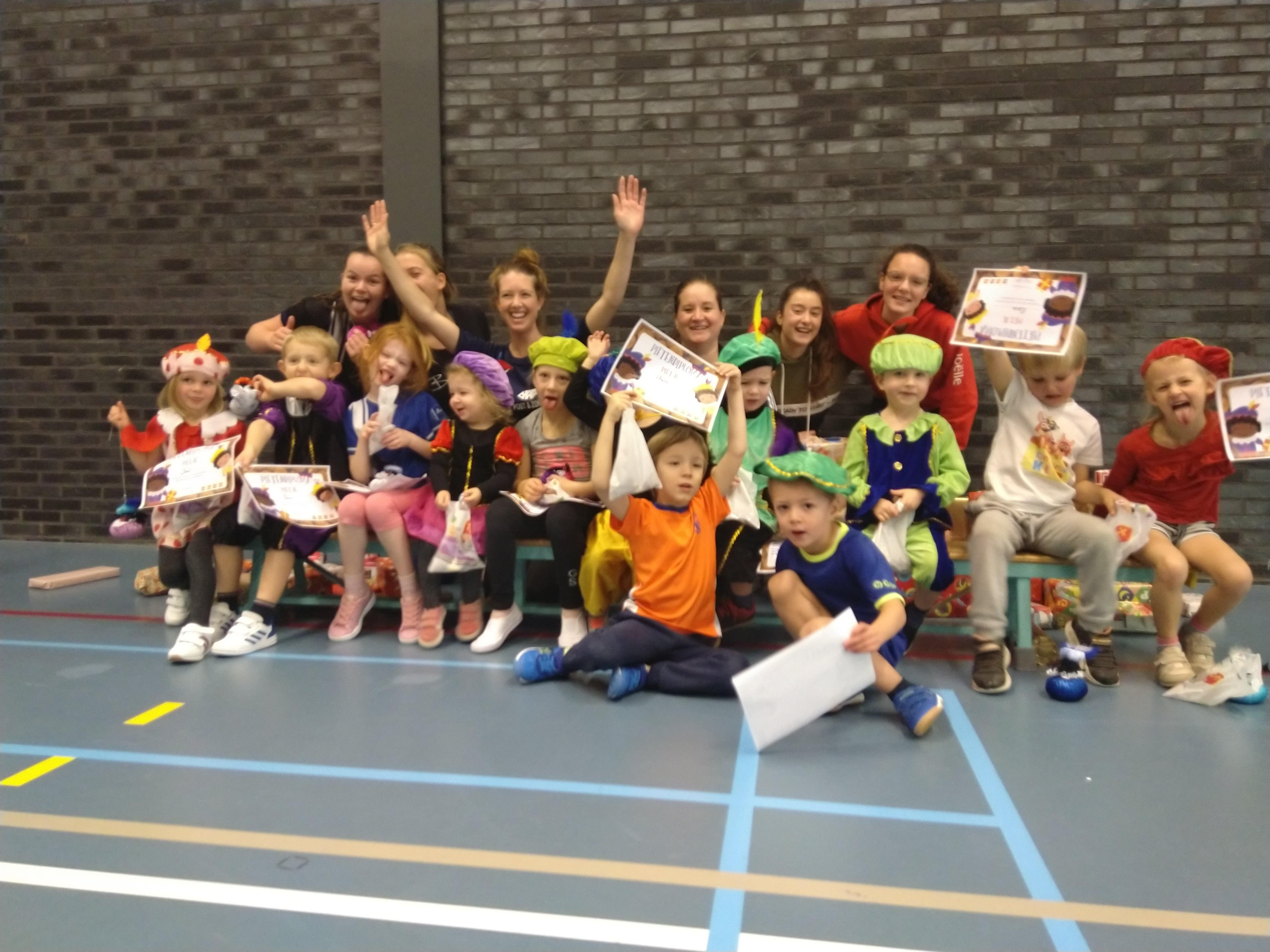 Pietentraining Diploma Spookies Kangoeroes