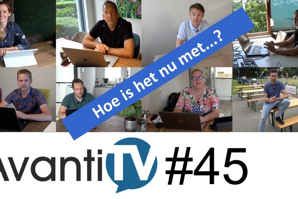 Aankonding Avanti TV45